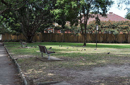 Pannerong Reserve - benches 2