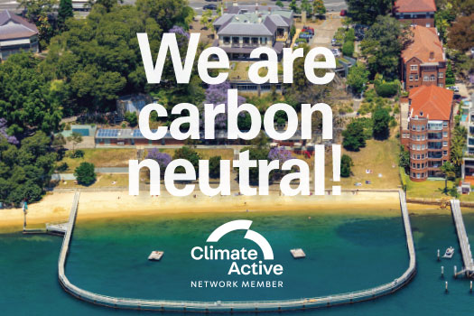 We are officially carbon neutral!