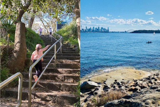 Hermitage Foreshore Trail Stairs
