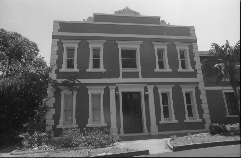The Ocean Street building which housed the Woollahra administration until 1947