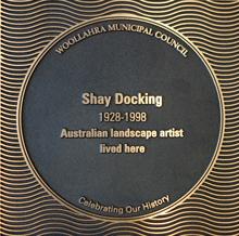 Shay Docking plaque