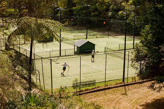 Cooper Park tennis courts