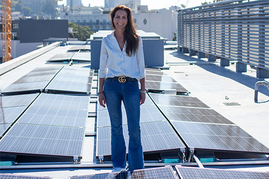 New rooftop solar system to power Woollahra Library