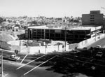 Construction of the Edgecliff bus-rail interchange, 1974
