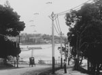 Rose Bay from New South Head Road, c1908