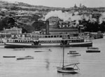Ferry at Watsons Bay, early 20th century