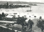 View over Rose Bay and Point Piper, c1910