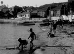 Children playing on Watsons Bay Beach, 1958