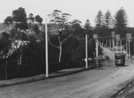 Tram on New South Head Road, Rose Bay, c1908
