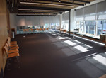Event Space A and B combined on Level 1 - perimeter setting with blinds partially lowered