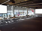 Event Space A and B combined on Level 1 - projector screens A and B