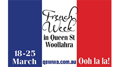 French Week in Queen St
