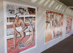 Murray Rose Pool murals
