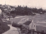 Postcard of Rushcutters Bay showing the shoreline
