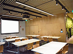 Event Space B on Level 1 - projector screen B