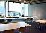 Event Space A on Level 1 - projector screen A