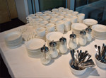 Event Space B on Level 1 - tea and coffee setting